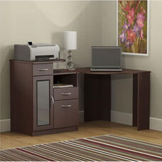 Vantage 48'' Corner Desk- Harvest Cherry