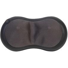 Relaxzen 3D Shiatsu Neck Pillow Massager with Heat - Black