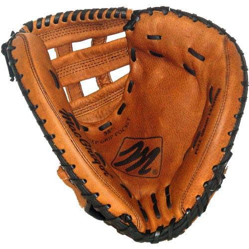 34'' Fast Pitch Full-Grain Leather Catcher's Mitt