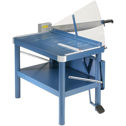DAHLE Premium Large-Format Guillotine Paper Cutter with Stand - 32'' Cut Length