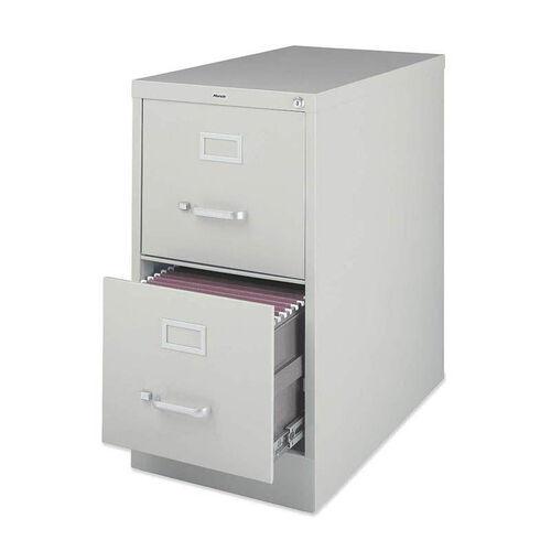 Lorell 2 Drawer 26.5''D Vertical File - Light Gray