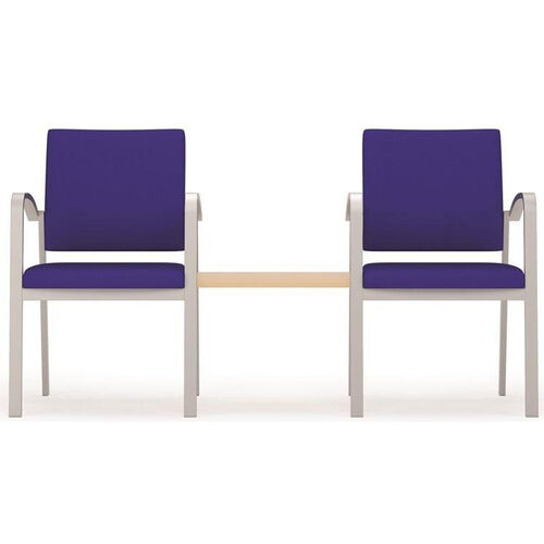 Newport Series Guest Chairs with Connecting Center Table