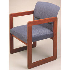 Classic Series Ergo Back Guest Chair with Sled Base