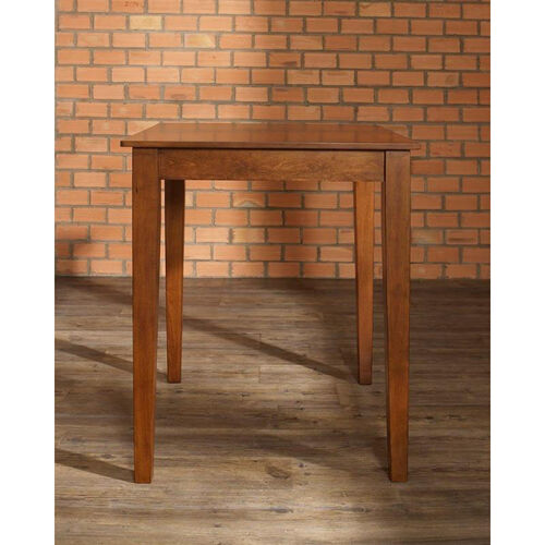 Tapered Leg Pub Table in Classic Cherry Finish