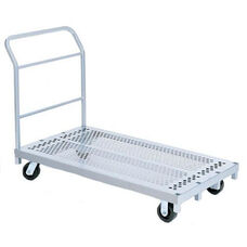 Heavy Duty Steel Frame Platform Truck with 5'' Casters - 30''W x 54''D