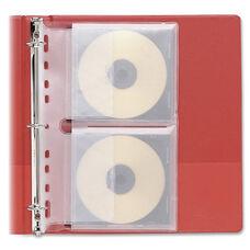 Fellowes Loose-Leaf Cd, Dvd Binder Sheets - Pack Of 10
