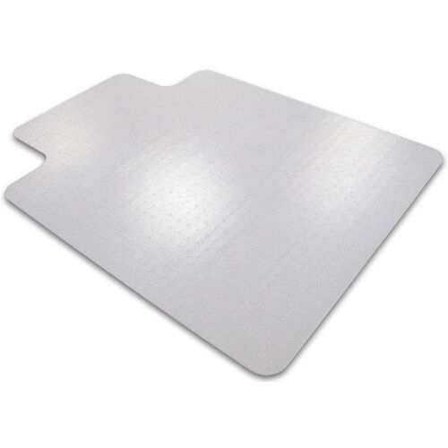 36''W x 48''L Cleartex Advantagemat Chairmat with Lip for Medium Pile Carpets up to 3/4''