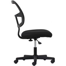 Essentials Swivel Mesh Task Chair - Black