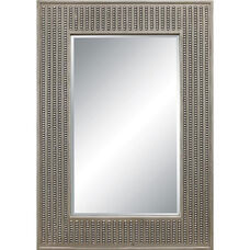 OSP Designs Calais Wall Mirror - Silver