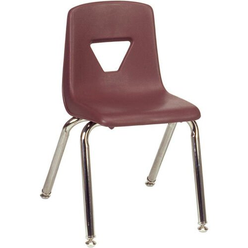 2000 Series Stack Chair with 14''H Seat - 13.63''W x 16.5''D x 23.62''H