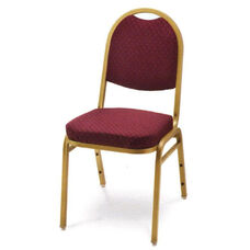 Prestige Banquet Stack Chair with Waterfall Style Seat - Half Moon Back