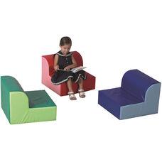 Library Trio Children's Seating - Set of Three