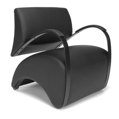 Recoil Lounge Chair - Black