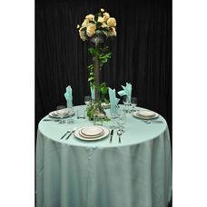 60'' x 60'' Renaissance Stain Resistant Series Square Tablecloth - Mint