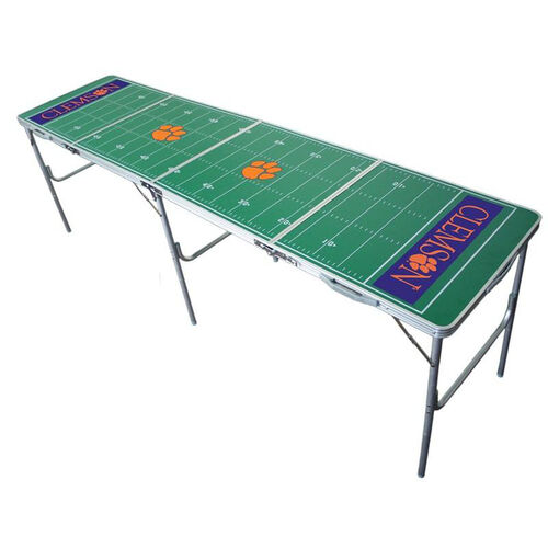 Clemson Tigers 2'x8' Tailgate Table