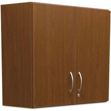 Alera Plus™ Hospitality Wall Laminate Cabinet with Two Locking Doors - 36''W x 14.19''D x 29.75''H - Cherry