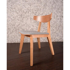 Norwegian Mid Century Modern Ashtree Armless Chair - Natural