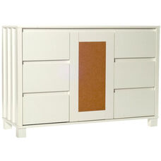 Cork Console - White