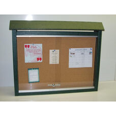 Large One Side Recycled Plastic Message Center