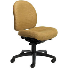 Pearl II 300 Series Small Back Single Shift Adjustable Swivel and Seat Height Task Chair
