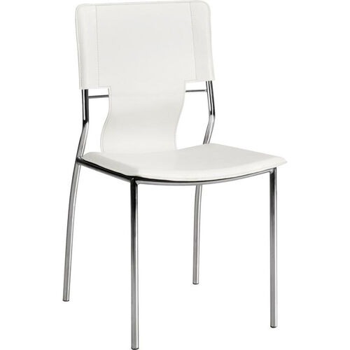 Trafico Dining Chair in White