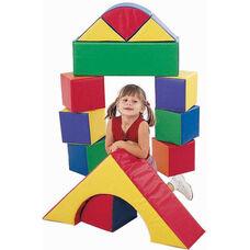 12 Piece Multicolor Soft Block Set
