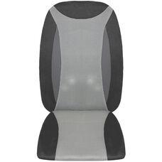 Full Back Shiatsu Massage Cushion with Heat - Gray