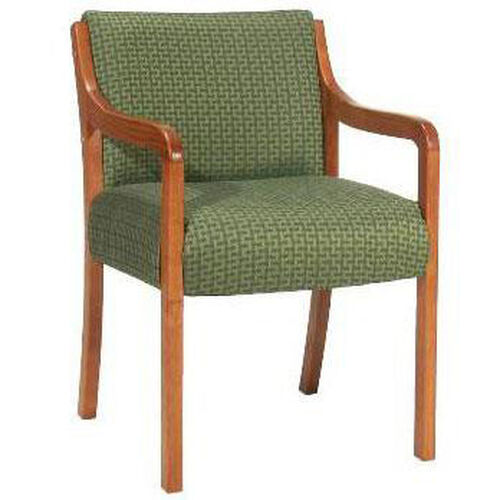3650 Lounge Chair w/ Upholstered Back & Spring Board - Grade 1