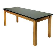 Rectangle Oak Frame Table