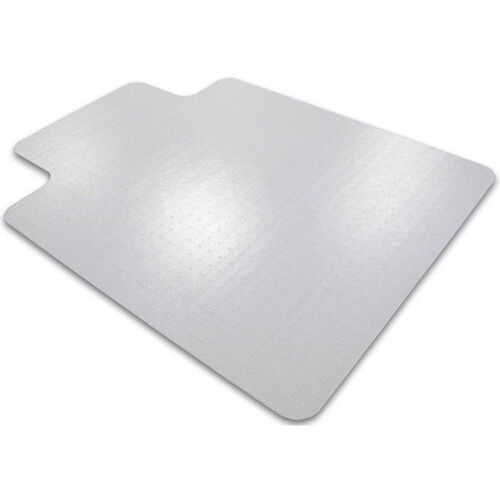 48''W x 60''L Cleartex Ultimat Chairmat with Lip for Low to Medium Pile Carpets