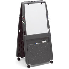 Presentation Flipchart Easel with Dry Erase Surface on One Side