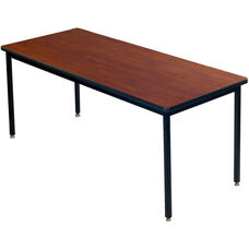Laminate Top All Welded 1 - 1/4'' Particleboard Core Conference/Class Room Table - 36''W x 60''D x 29''H