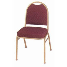 Prestige Banquet Stack Chair with Waterfall Style Seat - Slight Open Back