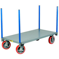 Pipe Stake Truck With 8'' Polyurethane Wheels - 24''W x 36''D