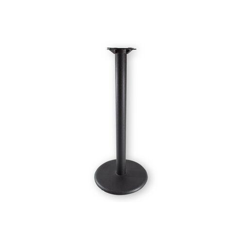 Black Matte 18'' x 41''H Round Table Base