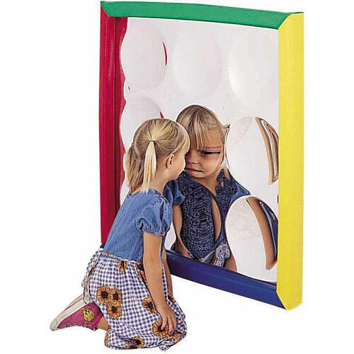 Soft Frame Wall Hung Concave Bubble Mirror - 34''L x 34''W