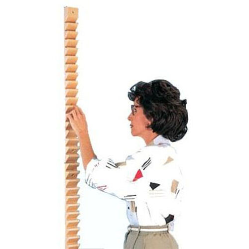 Wooden Shoulder Ladder - 2.5''W X 1.5''L X 58''H