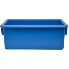 Plastic Injection Molded Cubbie Tray - Blue - 8.63''W x 13.5''D x 5.25''H