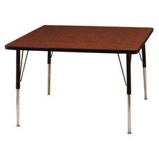 Adjustable Height Rectangular 1.125'' Table