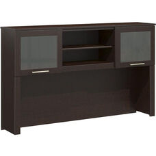 Somerset Collection 60'' Hutch - Mocha Cherry