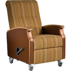 Florin Mobile Medical Recliner - Vinyl Upholstery