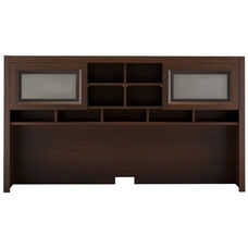 Achieve Hutch with Closed Storage in Sweet Cherry Finish