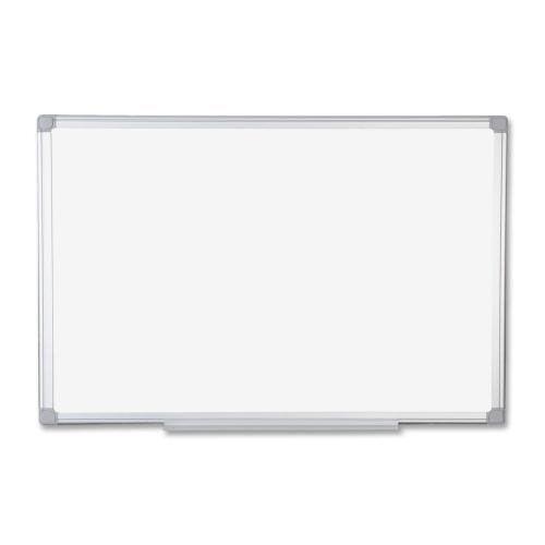 Bi-Silque Dry -Erase Boards -4' x 6' -White Board/Stainless Aluminum Frame