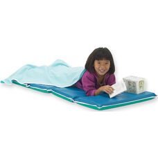 Vinyl 2'' Thick Foldable Junior DayDreamer Rest Mat - Blue and Teal