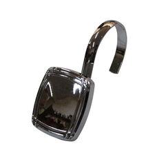 Picnic 12 Piece Metal Modern Decorative Shower Hooks - Chrome