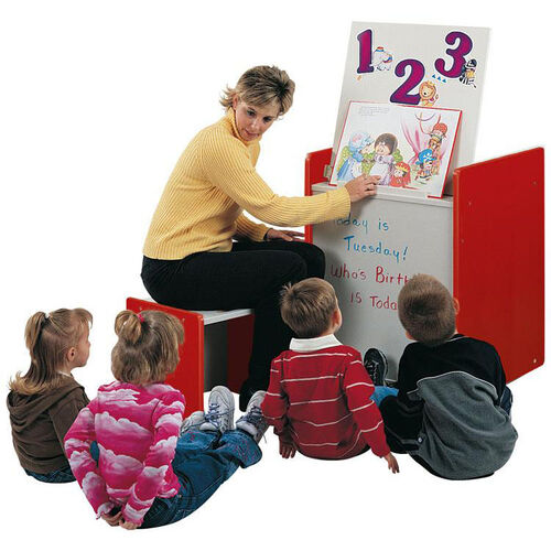 1000 Series Mobile Big Book Easel with Dry/Erase Marker Board