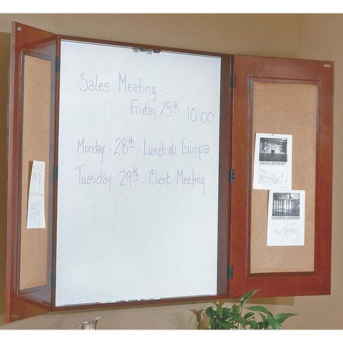 OSP Furniture Sonoma Wood Presentation Board - Cherry