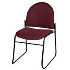 Endurance Contemporary Stack Chair with 2'' Thick Contoured Seat - Closed Back