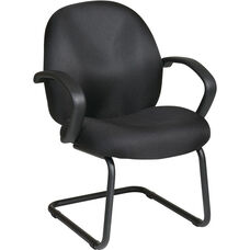 Work Smart Conference / Visitor Chair - Black Icon