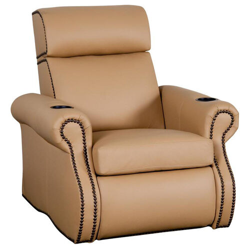 Bradford Theater Seat in Top Grain Leather